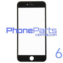 6D glas - donkere winkelverpakking voor iPhone 6 (10 stuks)
