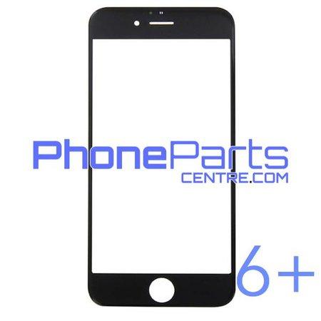 6D glas - donkere winkelverpakking voor iPhone 6 Plus (10 stuks)