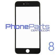 6D glas - zonder verpakking voor iPhone 8 (25 stuks)