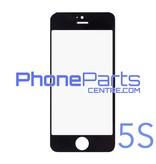 6D glas - witte winkelverpakking voor iPhone 5S (10 stuks)