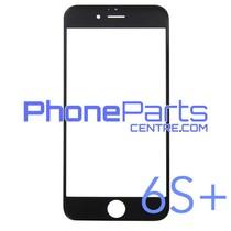 6D glas - witte winkelverpakking voor iPhone 6 Plus (10 stuks)