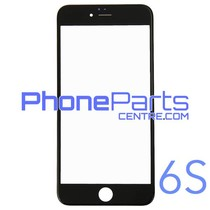 6D glas - witte winkelverpakking voor iPhone 6S (10 stuks)