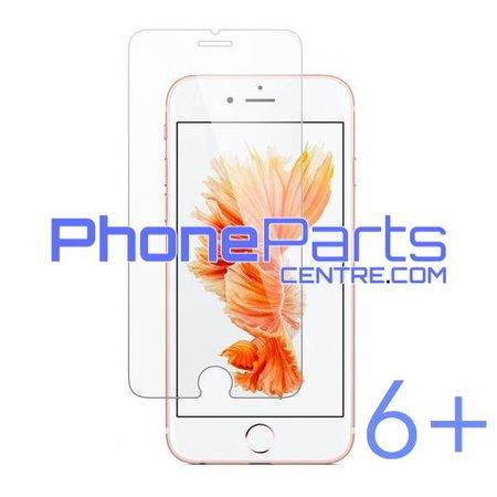 Tempered glass  0.3MM 2.5D - winkelverpakking voor iPhone 6 Plus (10 stuks)