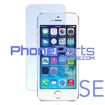 Tempered glass  0.3MM 2.5D - winkelverpakking voor iPhone SE (10 stuks)