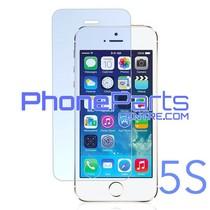 Tempered glass premium kwaliteit 0.3MM 2.5D - zonder verpakking voor iPhone 5S (50 stuks)