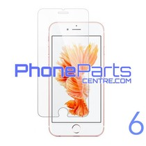 Tempered glass premium quality 0.3MM 2.5D - no packing for iPhone 6 (50 pcs)