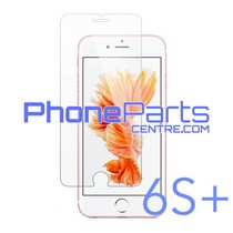 Tempered glass premium quality 0.3MM 2.5D - no packing for iPhone 6S Plus (50 pcs)