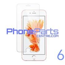 Tempered glass premium kwaliteit 0.3MM 2.5D - winkelverpakking voor iPhone 6 (10 stuks)