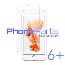 Tempered glass premium kwaliteit 0.3MM 2.5D - winkelverpakking voor iPhone 6 Plus (10 stuks)