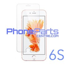 Tempered glass premium quality 0.3MM 2.5D - retail packing for iPhone 6S (10 pcs)