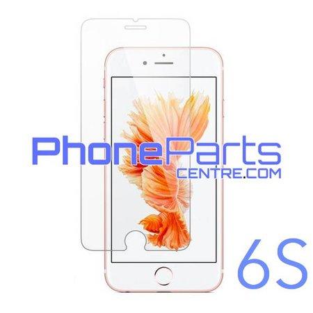 Tempered glass premium kwaliteit 0.3MM 2.5D - winkelverpakking voor iPhone 6S (10 stuks)