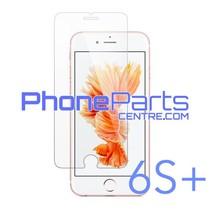 Tempered glass premium kwaliteit 0.3MM 2.5D - winkelverpakking voor iPhone 6S Plus (10 stuks)