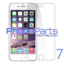 Tempered glass premium kwaliteit 0.3MM 2.5D - winkelverpakking voor iPhone 7 (10 stuks)