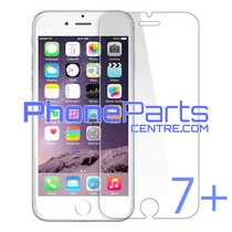 Tempered glass premium quality 0.3MM 2.5D - retail packing for iPhone 7 Plus (10 pcs)