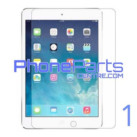 Tempered glass - no packing for iPad 1 (25 pcs)