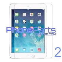 Tempered glass premium kwaliteit - geen verpakking voor iPad 2 (25 stuks)