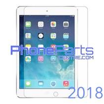 Tempered glass premium kwaliteit - winkelverpakking voor iPad 2018 (10 stuks)
