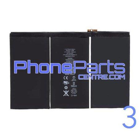 Batterij voor iPad 3 (2 stuks)