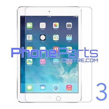 Tempered glass premium kwaliteit - geen verpakking voor iPad 3 (25 stuks)