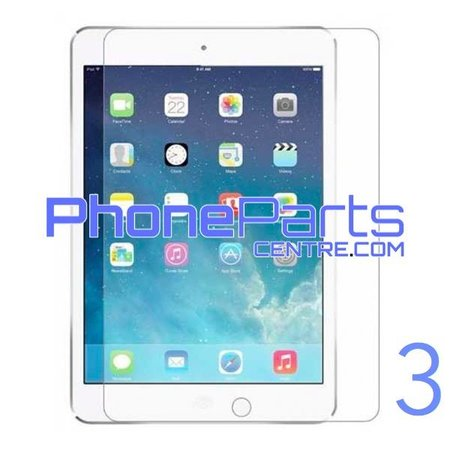 Tempered glass - retail packing for iPad 3 (10 pcs)