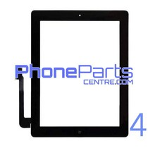 Digitizer / glass lens / home button for iPad 4 (2 pcs)