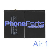 Battery for iPad Air 1 (2 pcs)