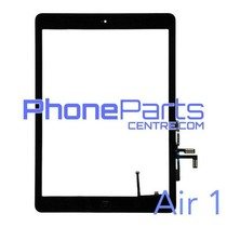 Digitizer / glass lens / home button for iPad Air 1 (2 pcs)