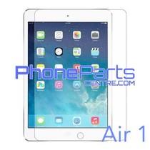 Tempered glass - winkelverpakking voor iPad Air 1 (10 stuks)