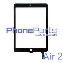 Digitizer / glass lens / home button for iPad Air 2 (2 pcs)