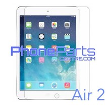 Tempered glass premium kwaliteit - winkelverpakking voor iPad Air 2 (10 stuks)