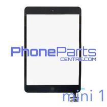Digitizer / glass lens / home button for iPad mini 1 (2 pcs)