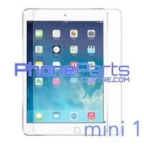 Tempered glass premium kwaliteit - winkelverpakking voor iPad mini 1 (10 stuks)