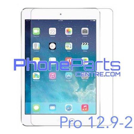Tempered glass premium kwaliteit - geen verpakking voor iPad Pro 12.9 inch 2 (25 stuks)