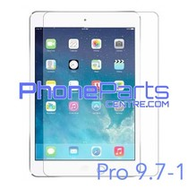 Tempered glass premium quality - no packing for iPad Pro 9.7 inch 1 (25 pcs)