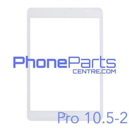 Touchscreen / glazen voorkant / home button voor iPad Pro 10.5 inch 2 (2 stuks)