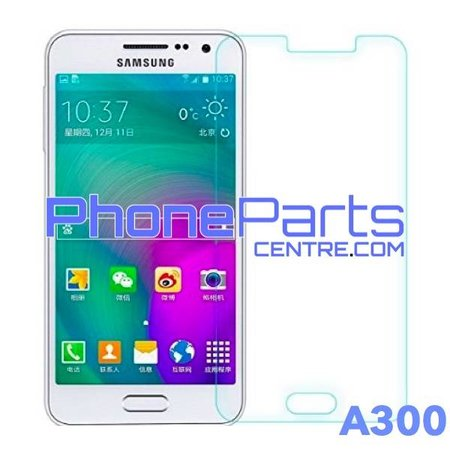 A300 Tempered glass premium quality - no packing for Galaxy A3 (2015) - A300 (50 pcs)