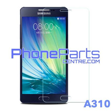 A310 Tempered glass premium quality - no packing for Galaxy A3 (2016) - A310 (50 pcs)