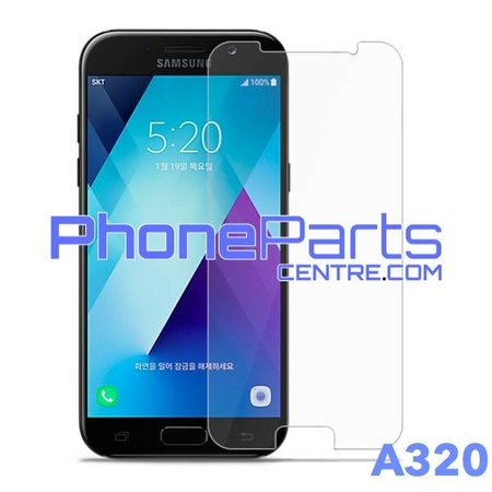 A320 Tempered glass premium quality - retail packing for Galaxy A3 (2016) - A320 (10 pcs)