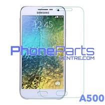 A500 Tempered glass premium kwaliteit - zonder verpakking premium quality voor Galaxy A5 (2015) - A500 (50 stuks)