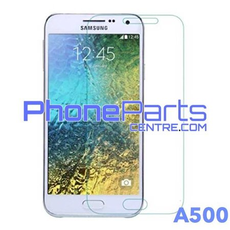 A500 Tempered glass premium quality - no packing for Galaxy A5 (2015) - A500 (50 pcs)