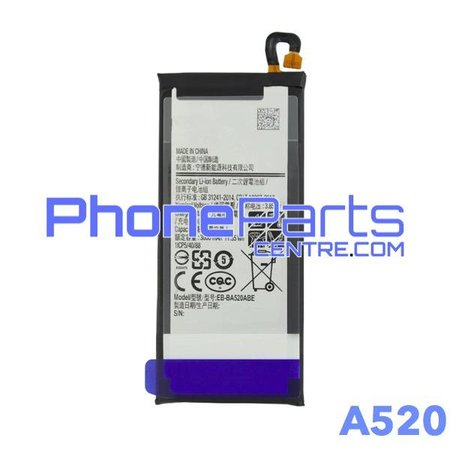 A520 Battery for Galaxy A5 (2017) - A520 (4 pcs)