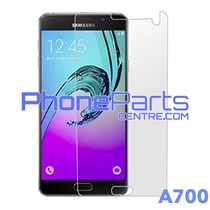 A700 Tempered glass premium kwaliteit - zonder verpakking premium quality voor Galaxy A7 (2015) - A700 (50 stuks)