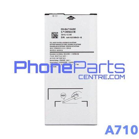A710 Batterij voor Galaxy A7 (2016) - A710 (4 stuks)