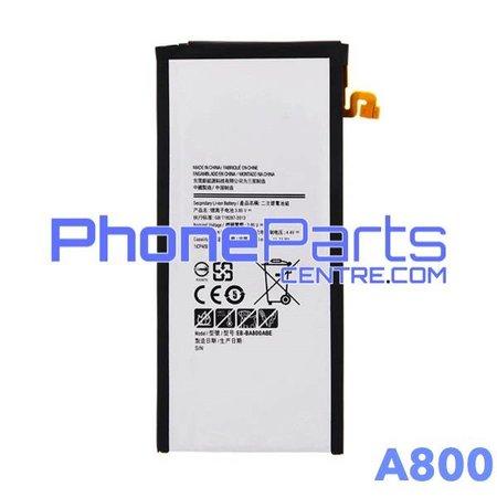 A800 Batterij voor Galaxy A8 (2015) - A800 (4 stuks)
