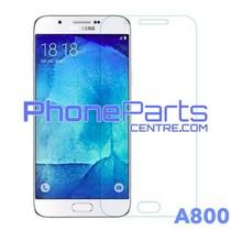 A800 Tempered glass - winkelverpakking voor Galaxy A8 (2015) - A800 (10 stuks)