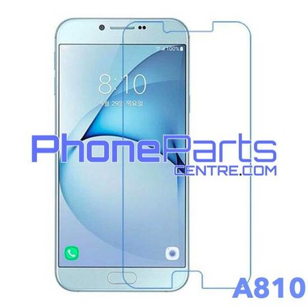 A810 Tempered glass - retail packing for Galaxy A8 (2016) - A810 (10 pcs)