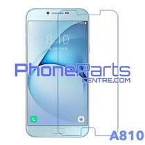 A810 Tempered glass premium kwaliteit - zonder verpakking premium quality voor Galaxy A8 (2016) - A810 (50 stuks)