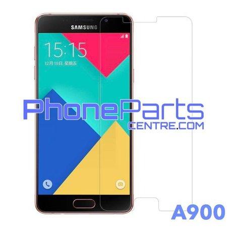 A900 Tempered glass premium kwaliteit - winkelverpakking voor Galaxy A9 (2016) - A900 (10 stuks)