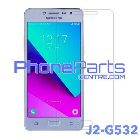 G532 Tempered glass premium kwaliteit - winkelverpakking voor Galaxy J2 Prime (2016) - G532 (10 stuks)
