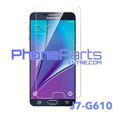 G610 Tempered glass premium kwaliteit - winkelverpakking voor Galaxy J7 Prime (2016) - G610 (10 stuks)